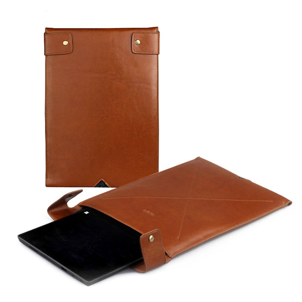 D-park Genuine Leather Sleeve Case