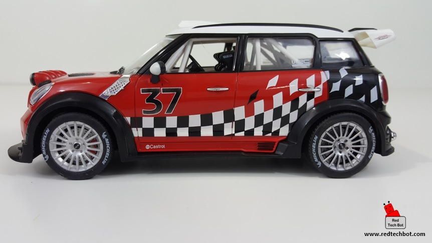 BMW Mini Cooper WRC R60 RC Car