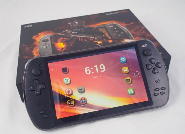 Neo Geo Emulation on the JXD S7800B -